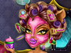 Clawdeen de Monster High Make-up