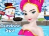 Frozen Elsa Outdoor Spa