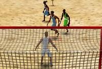 Juego de Fútbol Playa