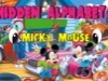 Micky Mouse Games Alphabets