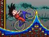 Son Gokû de Vélo dans le Montagne Russe