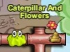 Caterpillar And Flowers