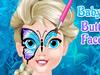 Pequena Elsa Pintura Facial