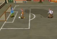 Strassenfussball