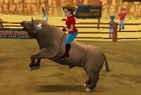 Rodeo Toro Enfadado