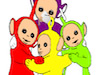 Coloring the Teletubbies