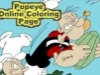 Popeye Online Coloring Page