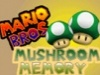 Mario Mushroom Memory