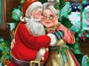 Liebe Zwischen Santa Claus und Ihre Frau