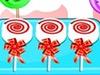 Peppermint Oreo Lollipops