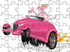 Puzzle of Car of the Pink Panther
