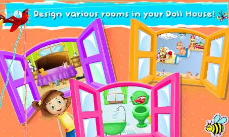 Babies Dolls House Baby Doll House Girls Game 1