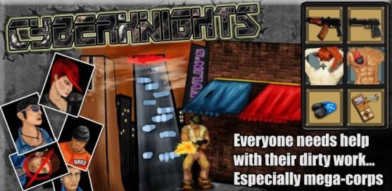 Cyber Knights RPG - 1