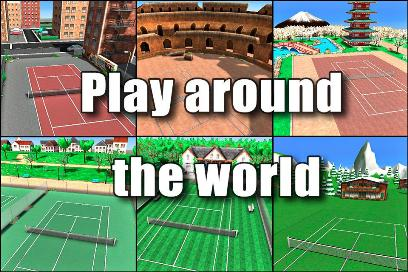 Hit Tennis 3 - 2