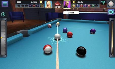 3D Pool Ball - 16