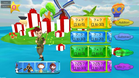 Kids Math Star - 2