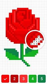 Draw.ly - Color by Number Pixel Art Coloring - 31