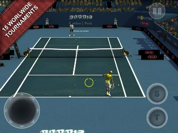 Cross Court Tennis 2 - 1