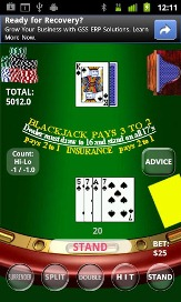 Real BlackJack 21 - 2