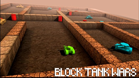 Block Tank Wars - 3