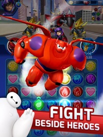 Big Hero 6 Bot Fight - 1