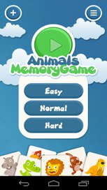 Kids Memory Game Animals - 3