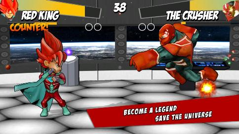 Superheros Free Fighting - 2