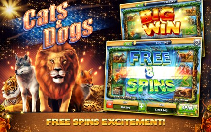 Cats and Dogs Casino Free Slots - 3