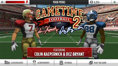GameTime Football 2 - 1