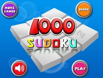 1000 Sudoku Pro - 1