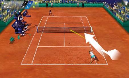 Flick Tennis - 1
