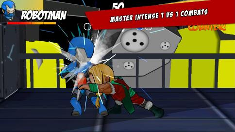 Superheros Free Fighting - 3