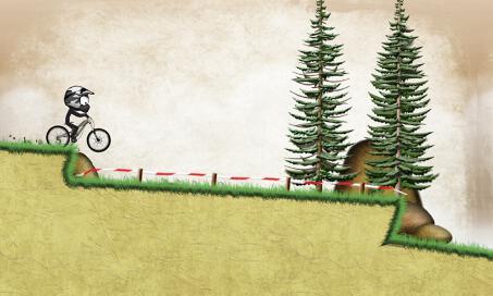 Stickman Downhill - 3