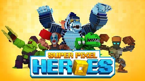 Super Pixel Heroes - 1