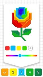 Draw.ly - Color by Number Pixel Art Coloring - 2