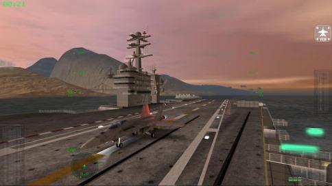 F18 Carrier Landing - 1