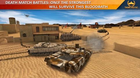 3D Tanks Online: Tanktastic - 3