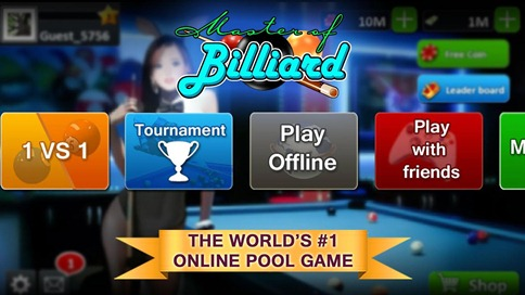 Master Of Billiard - Pool 8 9 - 1