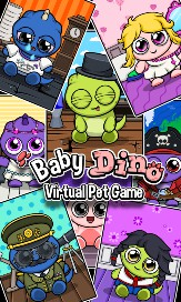 Baby Dino - Virtual Pet Game - 1