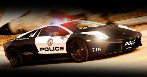 3D Police Car Parking - 1