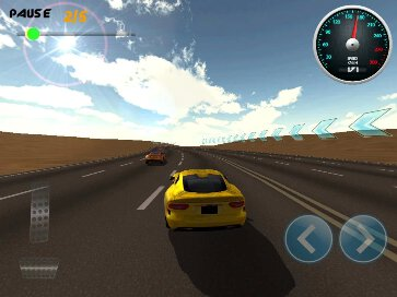 Burning Wheels 3D Racing - 1