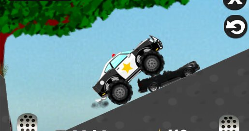 Mad Smash Cop Hill Racer - 2