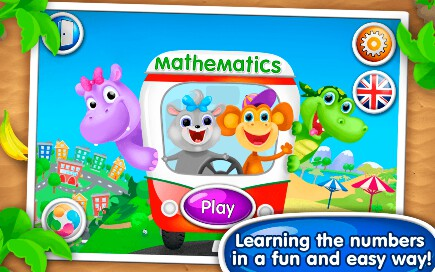 Math, Count & Numbers for Kids - 3