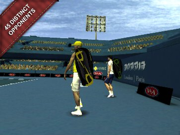 Cross Court Tennis 2 - 2