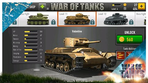 War of Tanks - 2