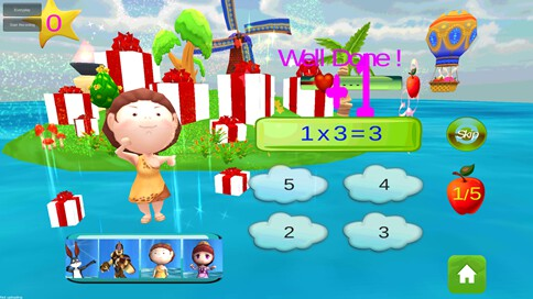 Kids Math Star - 3