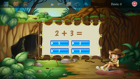 Counting Scout Math Game - 15