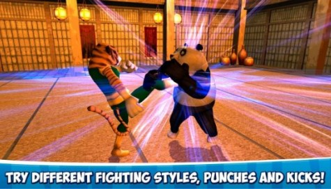 Ninja Panda Fighting 3D - 3