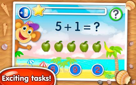 Math, Count & Numbers for Kids - 2