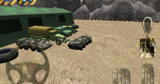 Army Parking 3D - 2